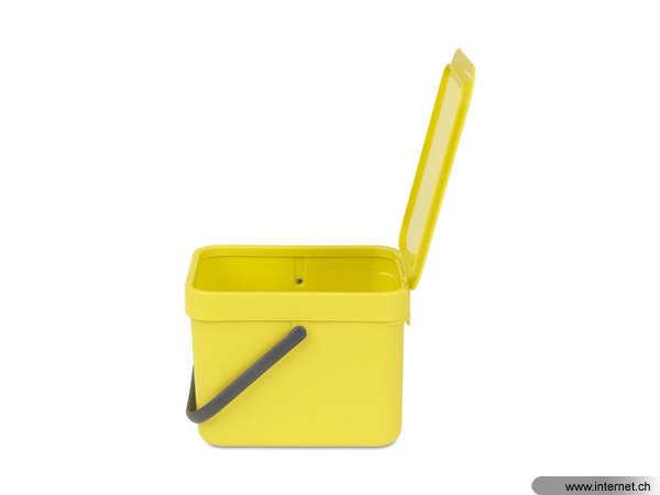Brabantia Komposteimer Sort Go Yellow 6 L Anzahl Behalter 1