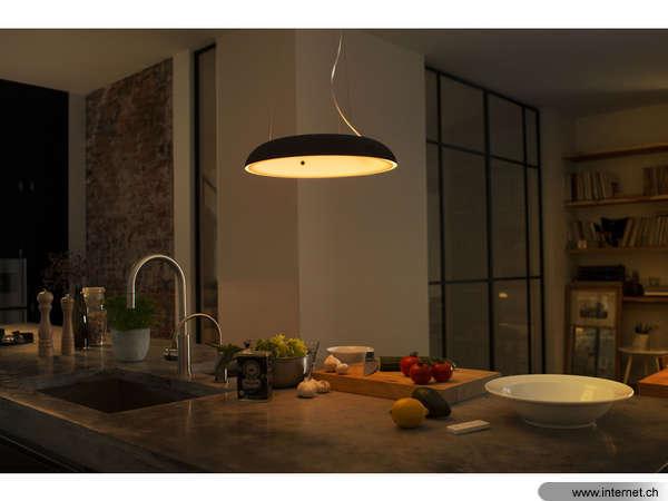 philips hue pendelleuchte amaze bk 915005402101. Black Bedroom Furniture Sets. Home Design Ideas