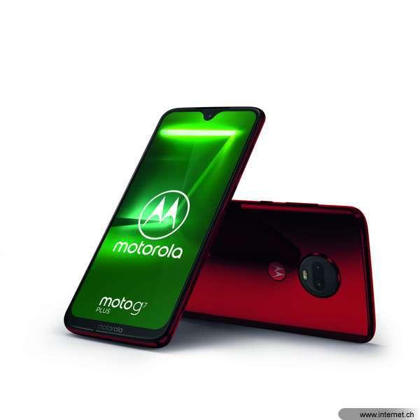 Motorola Moto G7 Plus Viva Red (PADU0017IS)